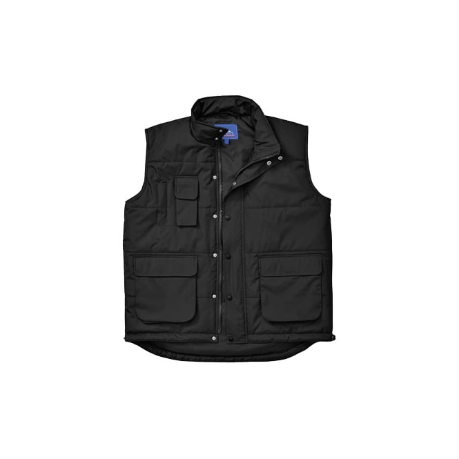 Portwest Classic Bodywarmer Black Size: 2XL *One Size Only - Outlet Store*