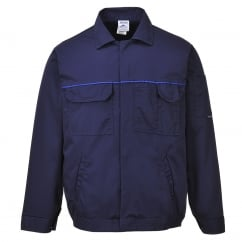 Classic Work Jacket Navy Size: L *One Size Only - Outlet Store*