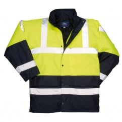 Contrast Traffic Jacket Yellow Size: XL *One Size Only - Outlet Store*