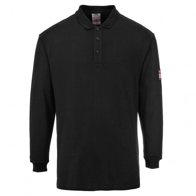 Portwest Flame Resistant Antistatic Polo Shirt