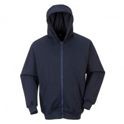 Flame Resistant Hooded Zip Sweatshirt