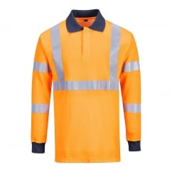 daae756234f5 Flame Resistant Modaflame Hi Visibility Polo Shirt