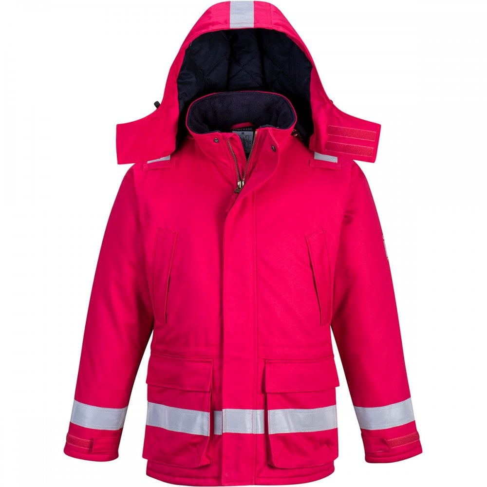 770164f74ab1 Portwest Flame Resistant Winter Jacket - Clothing from M.I. Supplies ...