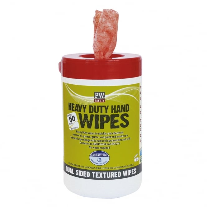 Portwest H/D Hand Wipes (Pk50)