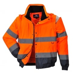 Hi-Vis 2in1 Jacket Orange Size: XL *One Size Only - Outlet Store*