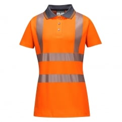 Hi-Vis Ladies Pro Polo Shirt