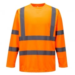 Hi-Vis Long Sleeved T-Shirt