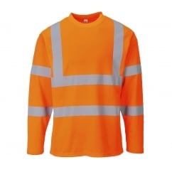 Hi-Vis T-Shirt Long Sleeves