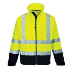Hi Visibility Contrast Softshell