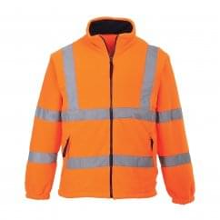 Hi Visibility Mesh Lined Fleece