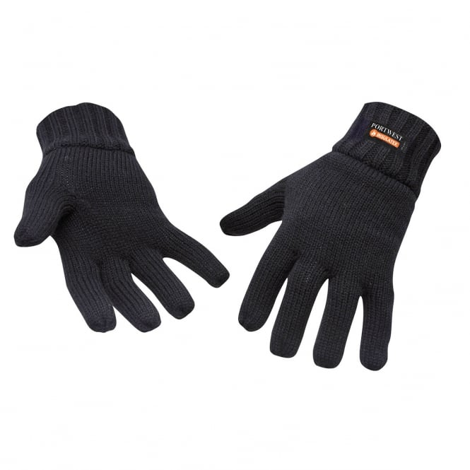 Portwest Knit Glove Thinsulate Lined