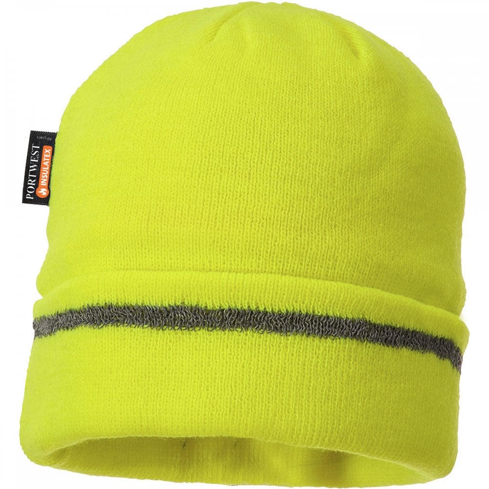 b90574c3 Portwest Knitted Hat Reflective Trim - Clothing from M.I. Supplies ...