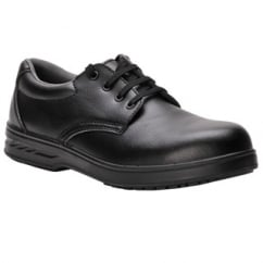 Laced Safety Shoe S2 Black Size: 4