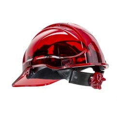 Peak View Ratchet Hard Hat