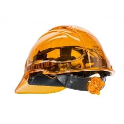 Peak View Ratchet Vent Helmet