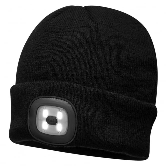 Portwest Rechargeable Led Beanie Clothing From M I