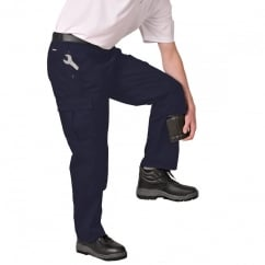 S887 Action Trousers: Black, W42