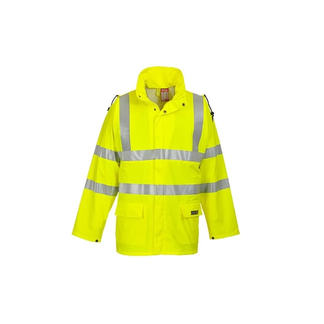 Portwest Sealtex Flame Hi Visibility Jacket