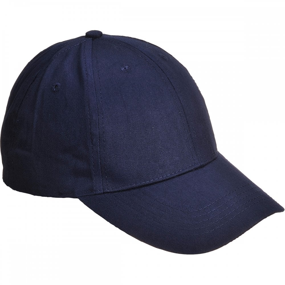 5d65de33 Portwest Six Panel Baseball Cap - Clothing from M.I. Supplies Limited UK