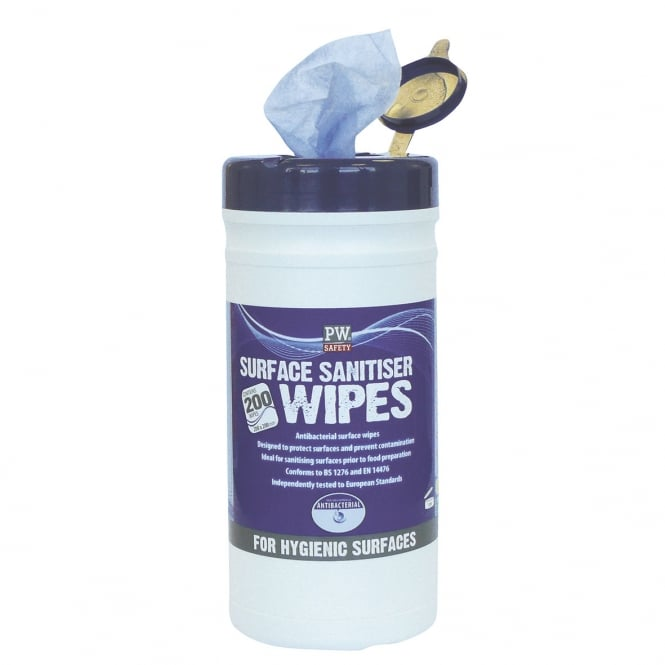 Portwest Surface Sanitiser Wipes
