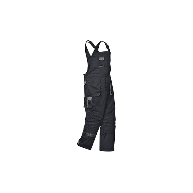 Portwest Texo Lined Bib & Brace Coverall