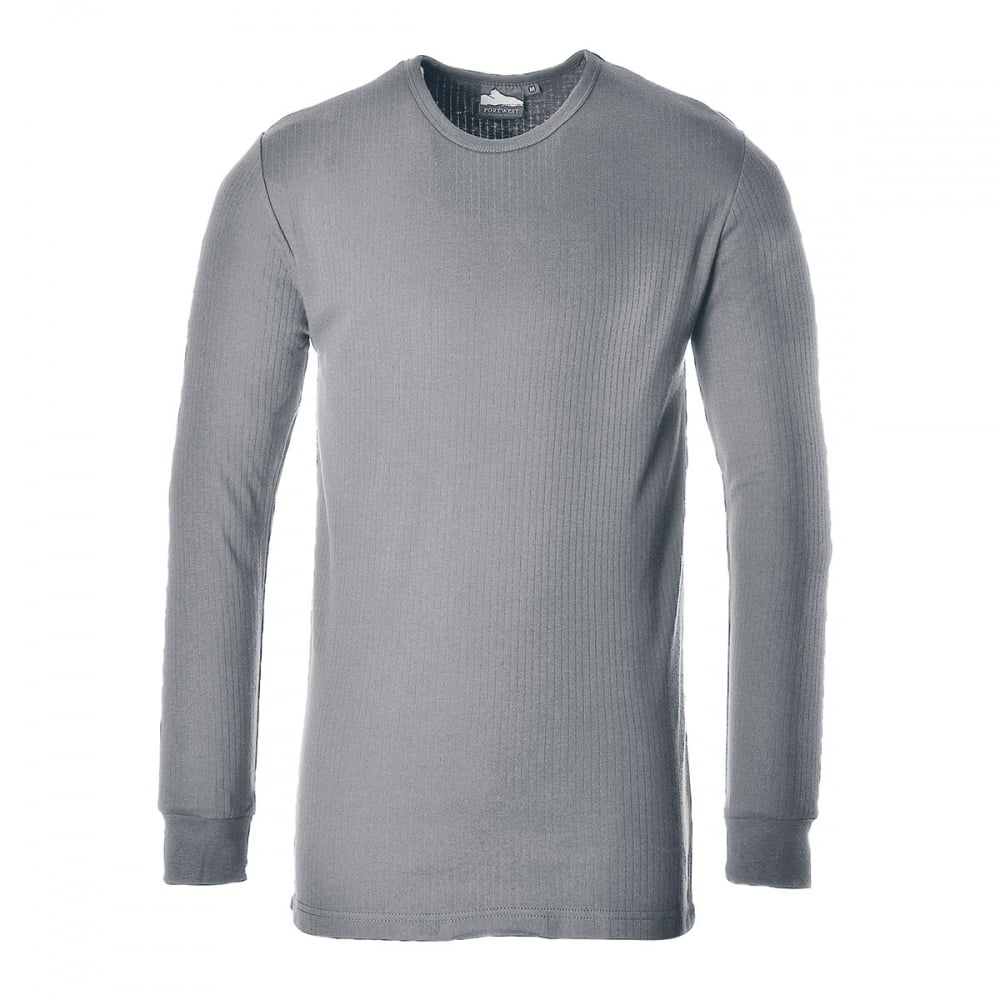 Portwest thermal t shirt long sleeve clothing from m i for Thermal t shirt long sleeve