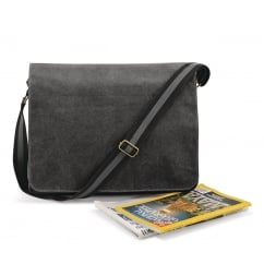 Quadra QD610 Vintage Canvas Despatch Bag