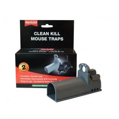 Clean Kill Mouse Traps (Pack of 2)