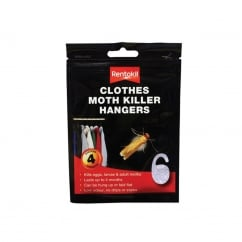 Clothes Moth Killer Hangers (Pack of 4)