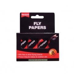 Flypapers (Pack of 8)