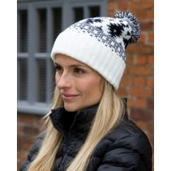 R356X Winter Deluxe Fair Isles Hat