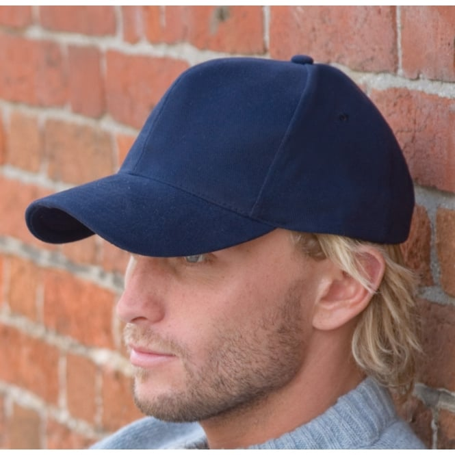 Result Headwear RC25 Pro Style Heavy Brushed Cotton Cap