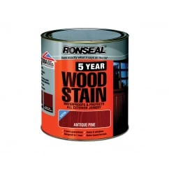 5 Year Woodstain Antique Pine 2.5 Litre