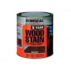 5 Year Woodstain Black Ebony 750ml