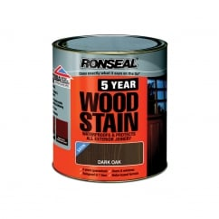 5 Year Woodstain Dark Oak 250ml