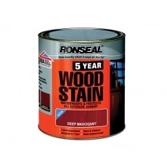 5 Year Woodstain Deep Mahogany 250ml