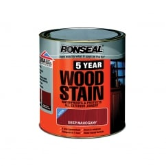5 Year Woodstain Deep Mahogany 750ml