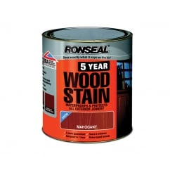 5 Year Woodstain Mahogany 250ml