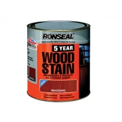 5 Year Woodstain Mahogany 750ml