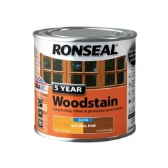5 Year Woodstain Natural Pine 250Ml