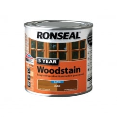 5 Year Woodstain Oak 250ml