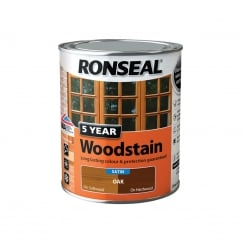 5 Year Woodstain Oak 750ml