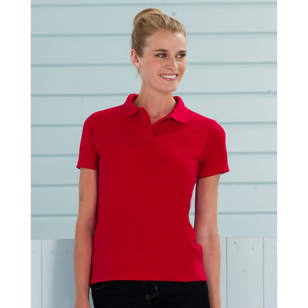 0f01d266e Russell Collection 539F Ladies' Classic Polycotton Polo - Clothing ...
