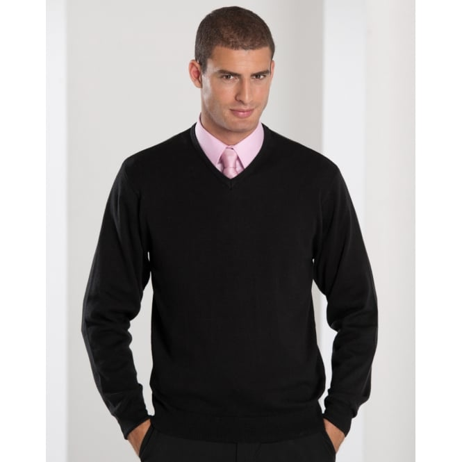 Russell Collection 710M V-Neck Knitted Pullover