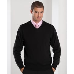 710M V-Neck Knitted Pullover