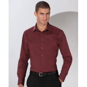 Russell Collection 934M Men's Long Sleeve Easy Care Poplin Shirt ...