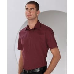 947M Men's Short Sleeve Easy Care Fitted Shirt