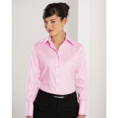 956F Ladies' Long Sleeve Ultimate Non-Iron Shirt Classic Pink - Size: S *One Size Only - Outlet Store*