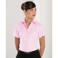 957F Ladies' Short Sleeve Ultimate Non-Iron Shirt