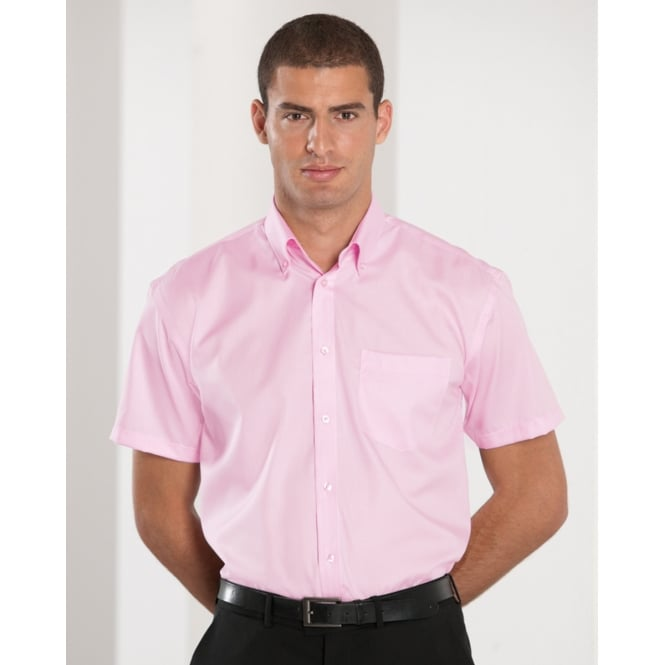 Russell Collection 957M Men's Short Sleeve Ultimate Non-Iron Shirt